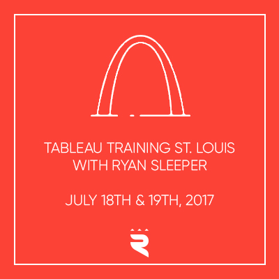 Tableau Training St. Louis with Ryan Sleeper width=