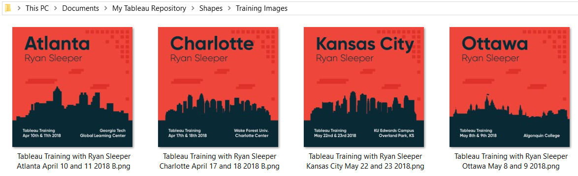 Training Images in Shapes Folder of My Tableau Repository