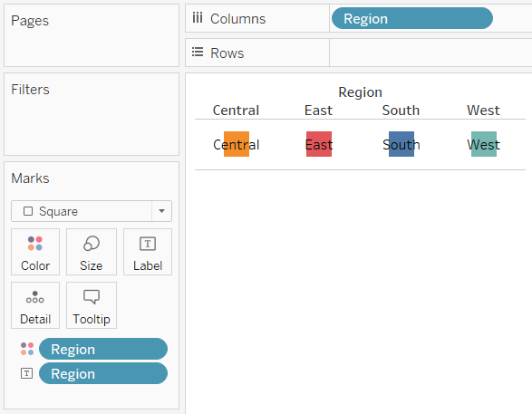 Starting a Navigation Control Sheet in Tableau