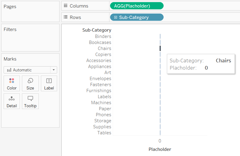 Displaying a Tooltip on a Measure in Tableau